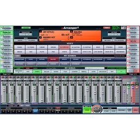 V Arranger 2 + 10.000 Estilos Yamaha, Korg, Roland Y Mas