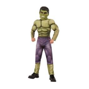 Disfraz 8 A 10 Años Hulk Avengers Niño Con Musculos acaf29ebdb5e