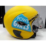 Capacete Vemar Meninas Super Poderosas Blue 52 Ou 54