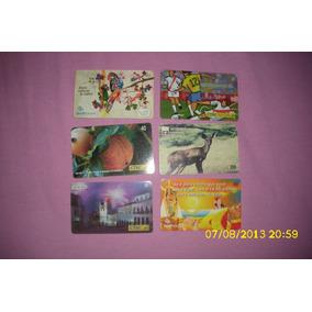 5 Cartões Telefônicos Por 5,00