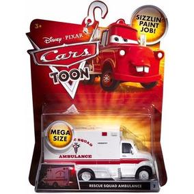 Disney Cars Orig.mattel Rescue Squad Ambulance Mega Size