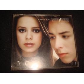 Cd Sandy & Júnior / O Amor Faz - Single Promocional