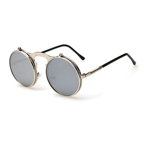 3fef133a04d67 Oculo Redondo Lente Dupla - Óculos De Sol no Mercado Livre Brasil