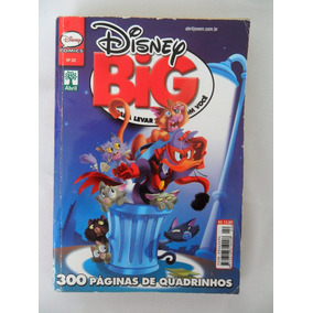 Disney Big N° 22 Ano De 2013 Editora Abril 300 Páginas