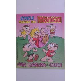Álbum Turma Da Mônica Spin Uma Loucura De Chicle
