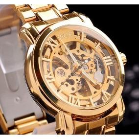 a3a8a92d5ef Relógio Winner Automático Números Romanos - Relógios no Mercado ...