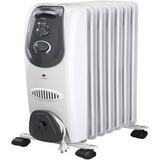Pelonis 7-fin Del Radiador Calentador Eléctrico Gray