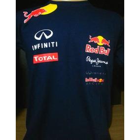 6bddec0f2c850 Camisa Camiseta F1 Red Bull Mclaren Mercedes Benz Bmw