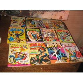 Heróis Da Tv Ano:1985 Lote Com 13 Edições Ed Abril Leia Nºs
