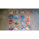 16 Tazos Arma Tazos Voladores Disney De Evercrisp Chile