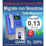 Recargas Voip Telefono Publico Locutorios 320%ganancia Real
