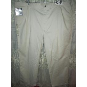 Pantalon Casual-vestir Talla 52x34 Haggar