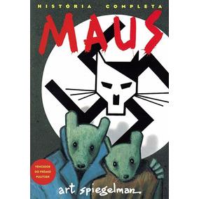 Maus A História De Um Sobrevivente Art Spiegelman Frete 14