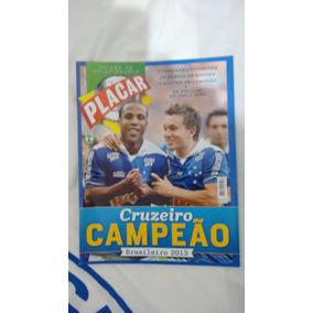 Revista Placar Ed. Especial Cruzeiro Campeão Brasileiro 2013