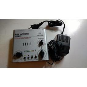 Mic200 Pre Amplificador Behringer Valvulado Mic 200