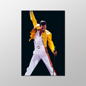 Poster Queen 40x60cm Freddie Mercury Banda Rock Decorativo