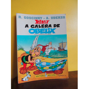 Hq Asterix A Galera De Obelix Goscinny Uderzo 1997