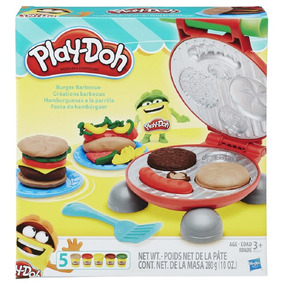 Massinha Play-doh - Festa Do Hamburguer
