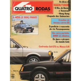 Quatro Rodas Nº331 Gol Gts Monza S/r Parati Belina Ghia Elba