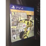 Fifa 17 Ps4 Deluxe Edition Imp De Usa + Envio Gratis