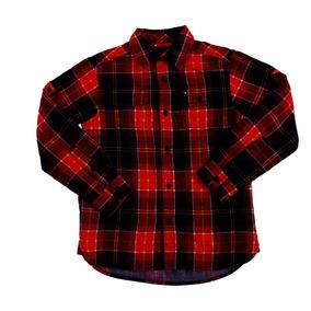 Camisa Camisola Tommy Hilfiger Niño Tm Cuadros Casual C243