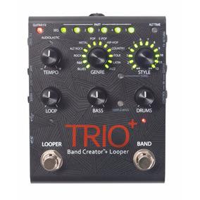 Pedal De Efeitos Digitech Trio Plus Band Creator Looper