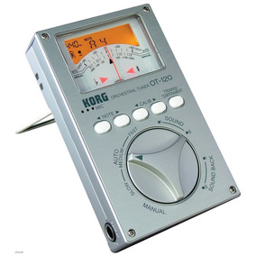 Afinador Cromatico Korg Orquestral Ot-120 - Bag Garantia