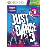 Kinect Just Dance 3 Xbox 360