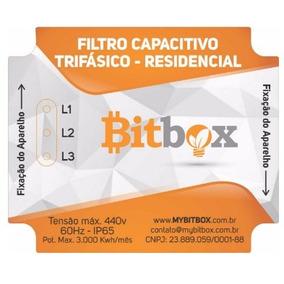 Filtro Capacitivo Redutor De Energia Trifásico - Bitbox