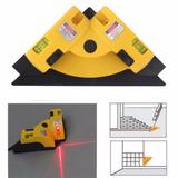 Nível Laser 90 Graus Horizontal E Vertical Esquadro Canto