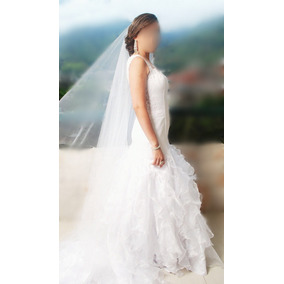 Hermoso Vestido De Novia Incluye Velo.