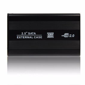 Case Externo Usb 2.0 Hd Sata Notebook 2.5 Ultra Slim
