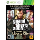 Juego Gta Iv & Liberty City Xbox 360 Ibushak Gaming