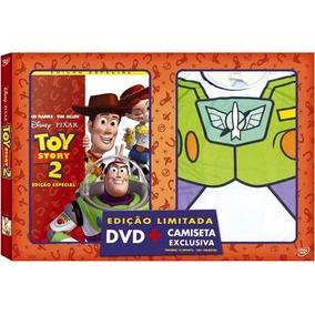 Toy Story 2 + Camiseta Infantil Tamanho 10 - Dvd Disney