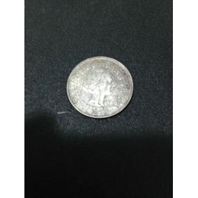 Moeda De 1000 Réis 1913 Estrela Ligada Prata Republica