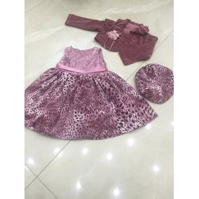 Boina Infantil Para Meninas De Veludo - Vestidos no Mercado Livre Brasil 1e560366183