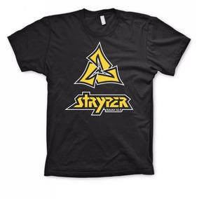 Stryper - New Logo (camiseta Preta De Algodão) P,m,g,gg, Pp