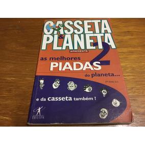 Livro Casseta E Planeta As Melhores Piadas - Frete 14,00