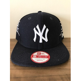 Boné New Era 59fifty New York Yankees Azul Marinho - Mlb 0fbac0d8c92