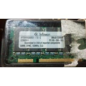 Memoria Ram Pc133mhz De 64mb