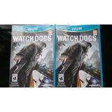 Watch Dogs Wii U Nuevo, Sellado