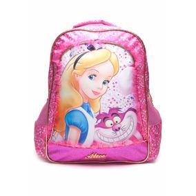 Mochila Alice In Wonderland Escolar Infantil Costas Xeryus