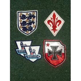 Logos, Parches Fiorentina, Inglaterra, Premier, Polonia !