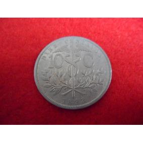 Moeda Boliviana - 10 Centavos 1893 Cu-ni Mbc