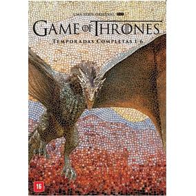 Dvd Game Of Thrones Todas Temporadas Completas