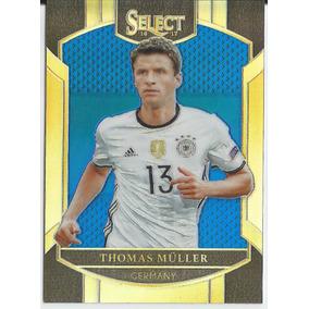 2d868538 2016-17 Panini Select Blue Prizm /299 Thomas Muller Germany