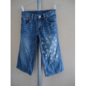 Bermuda Jeans Infantil Gap Para 6 A 8 Anos Usado