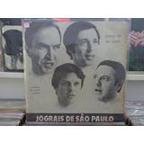 Lp Jograis De São Paulo - Poesia De São Paulo