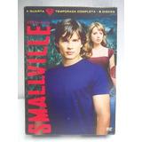 Smallville 4a. Temporada Box 6 Dvd´s Original Excelente Esta