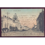Cartão Postal-são Gabriel/rs-rua Do Commércio